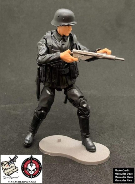 Marauder Gun Runners Marauder Task Force Black German Soldier - Surveillance Port 08
