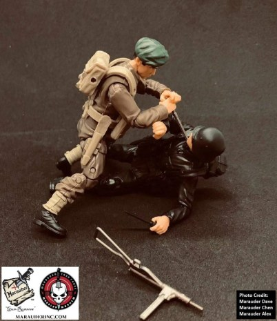 Marauder Gun Runners Marauder Task Force Black German Soldier - Surveillance Port 09