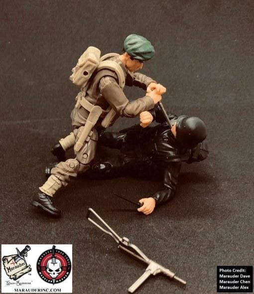 Marauder Gun Runners Marauder Task Force Black German Soldier - Surveillance Port 09
