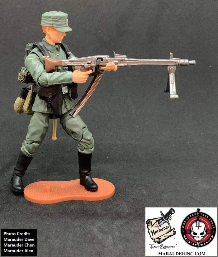 Marauder Gun Runners Marauder Task Force German MG42 Gunner - Surveillance Port 05