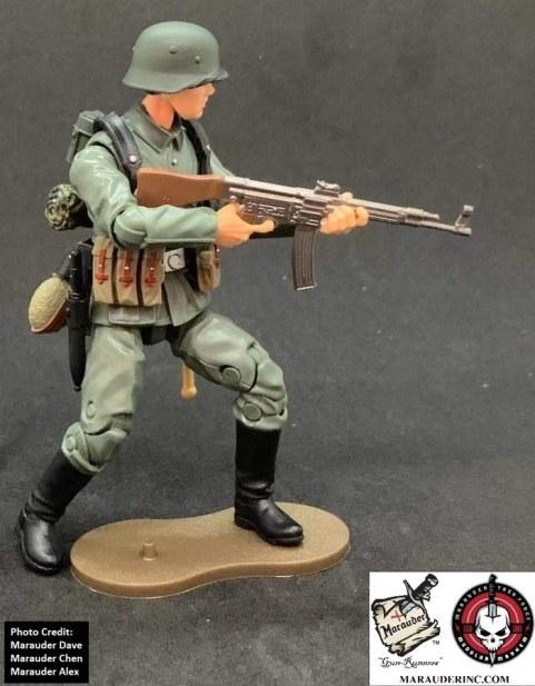 Marauder Gun Runners Marauder Task Force German MP44 Gunner - Surveillance Port 03