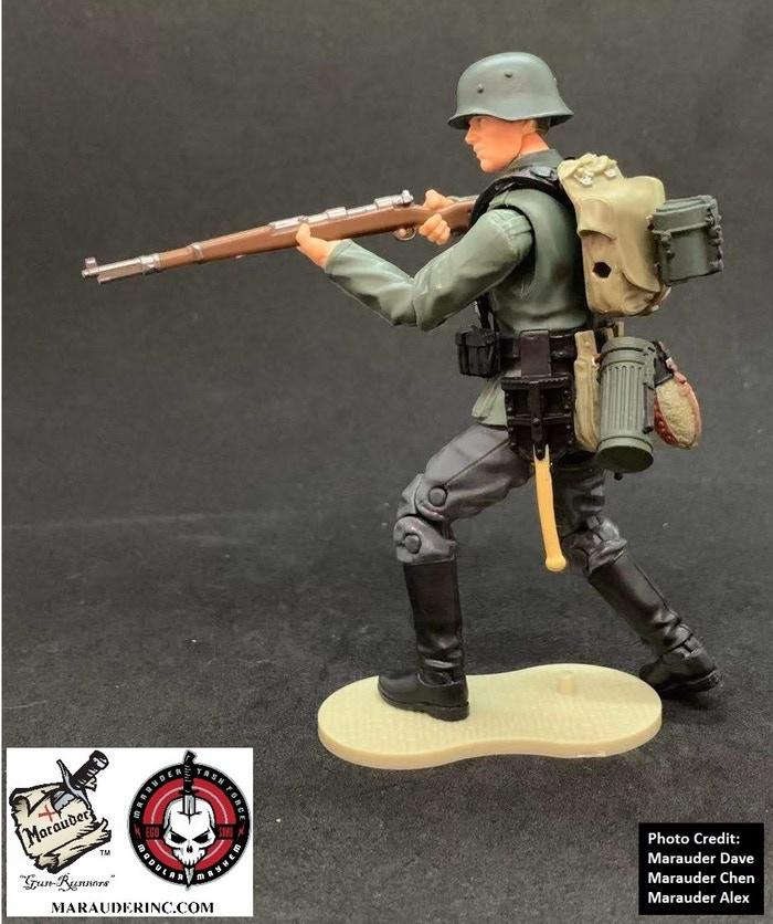Marauder Gun Runners Marauder Task Force German Rifleman - Surveillance Port 02