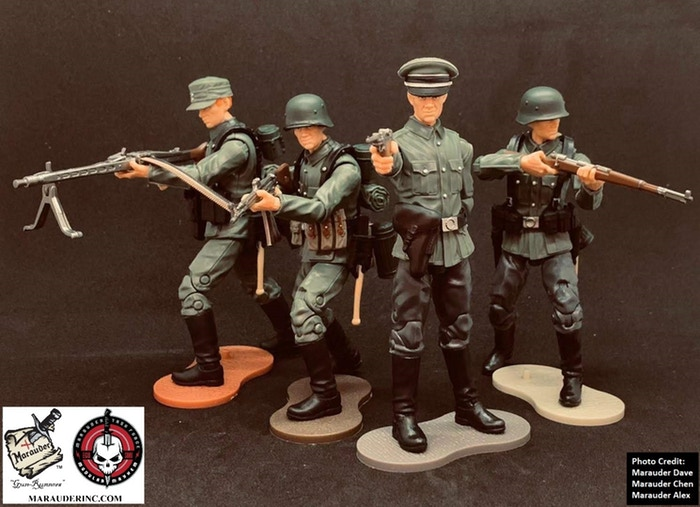 Marauder Gun Runners Marauder Task Force German Soldiers - Surveillance Port 01