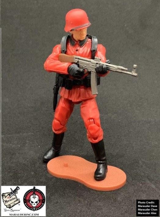 Marauder Gun Runners Marauder Task Force Red German Soldier - Surveillance Port 06