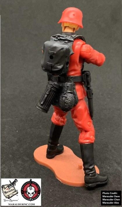 Marauder Gun Runners Marauder Task Force Red German Soldier - Surveillance Port 07