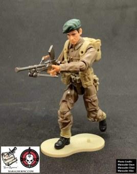 Marauder Gun Runners Marauder Task Force WWII Bren Gunner - Surveillance Port 05