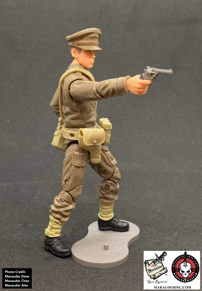Marauder Gun Runners Marauder Task Force WWII British Officer - Surveillance Port 04