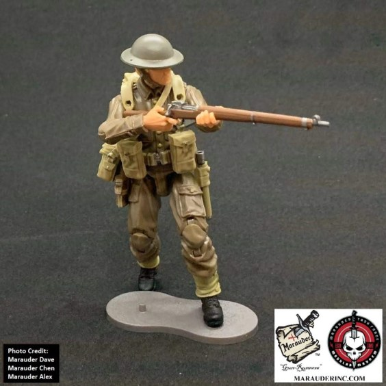 Marauder Gun Runners Marauder Task Force WWII British Rifleman - Surveillance Port 02