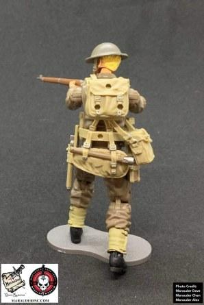 Marauder Gun Runners Marauder Task Force WWII British Rifleman - Surveillance Port 03