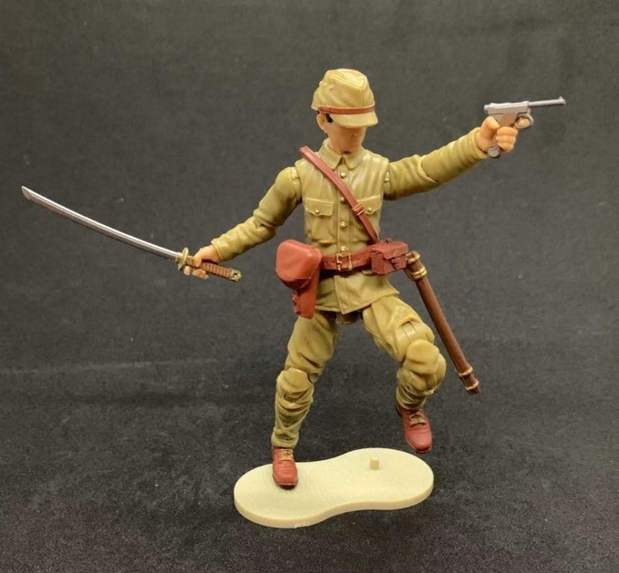 Marauder Gun Runners Marauder Task Force WWII Japanese NCO Officer - Surveillance Port 04