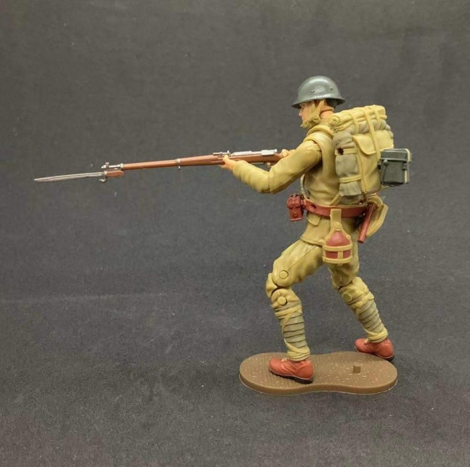 Marauder Gun Runners Marauder Task Force WWII Japanese Rifleman - Surveillance Port 02