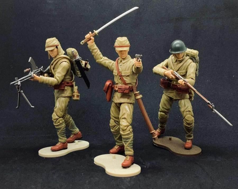 Marauder Gun Runners Marauder Task Force WWII Japanese Soldiers - Surveillance Port 01