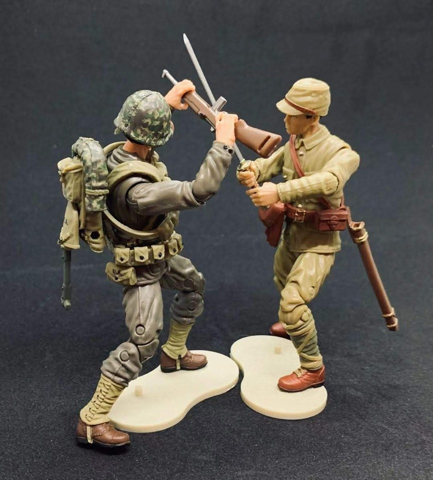 Marauder Gun Runners Marauder Task Force WWII Japanese Soldiers - Surveillance Port 05