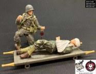 Marauder Gun Runners Marauder Task Force WWII Navy FMF Corpsman - Surveillance Port 01