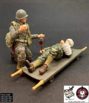Marauder Gun Runners Marauder Task Force WWII Navy FMF Corpsman - Surveillance Port 02