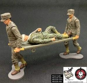 Marauder Gun Runners Marauder Task Force WWII Navy FMF Corpsman - Surveillance Port 03