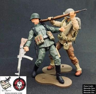 Marauder Gun Runners Marauder Task Force WWII Navy FMF Corpsman - Surveillance Port 04