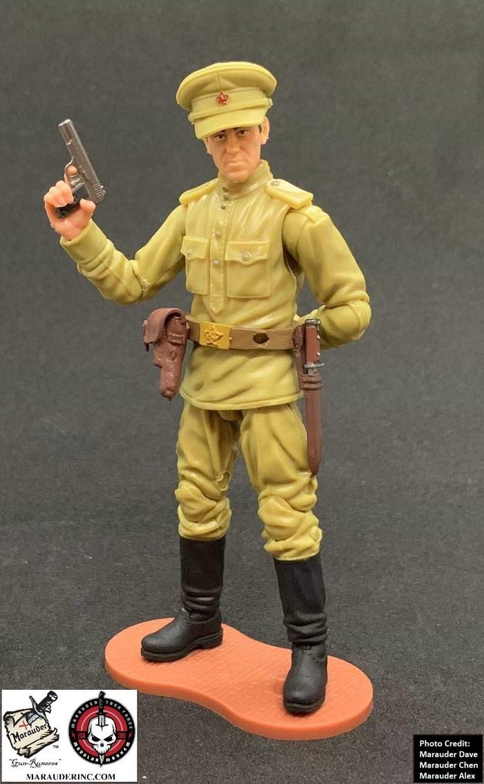 Marauder Gun Runners Marauder Task Force WWII Russian Officer - Surveillance Port 04