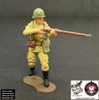 Marauder Gun Runners Marauder Task Force WWII Russian Rifleman - Surveillance Port 02