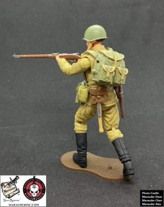 Marauder Gun Runners Marauder Task Force WWII Russian Rifleman - Surveillance Port 03