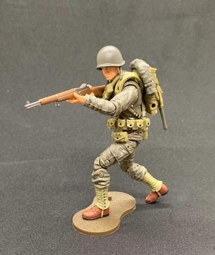 Marauder Gun Runners Marauder Task Force WWII US Army Rifleman - Surveillance Port 04