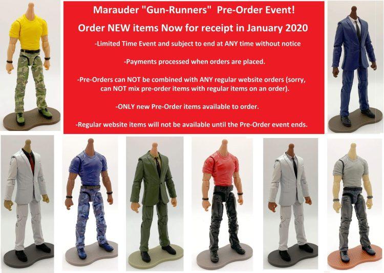 Marauder Task Force Pre Order Event - Surveillance Port 01
