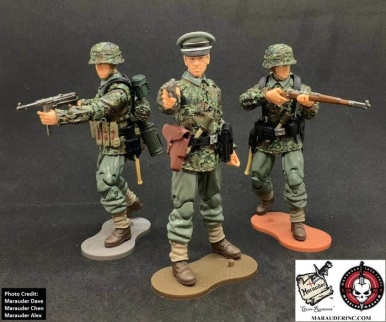 MTF WWII Kickstarter Exclusive Green Camo German Panzer Grenadier - Surveillance Port (1)