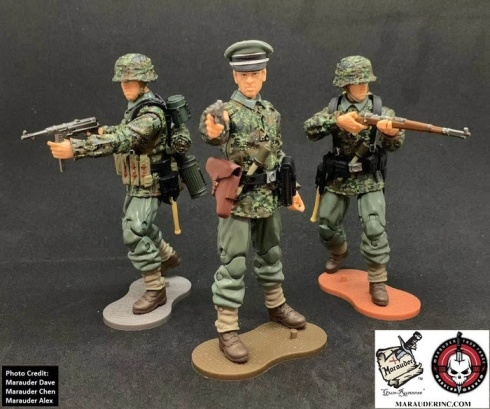 MTF WWII Kickstarter Exclusive Green Camo German Panzer Grenadier - Surveillance Port (1)