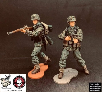 MTF WWII Kickstarter Exclusive Green Camo German Panzer Grenadier - Surveillance Port (2)