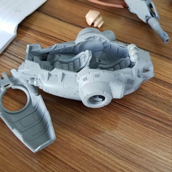 TeccoToys Factory Fine Cut Parts - Surveillance Port 01