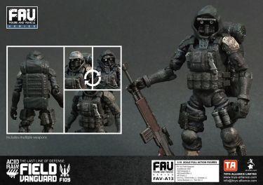Toys Alliance Acid Rain World Field Vanguard F109 - Surveillance Port 03