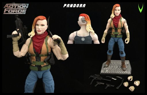 ValaVerse Action Force Pandora - Surveillance Port 02