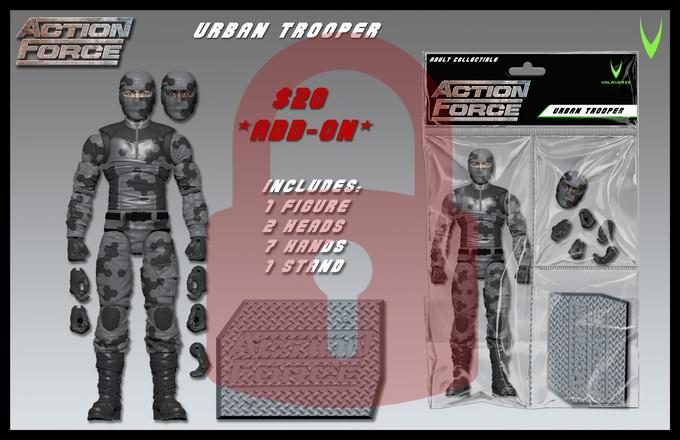 ValaVerse Action Force Urban Trooper - Surveillance Port