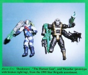 1995 G.I.Joe Star Brigade Shockwave and Thrasher - Surveillance Port