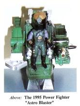 Astro Blaster Power Fighter - Surveillance Port