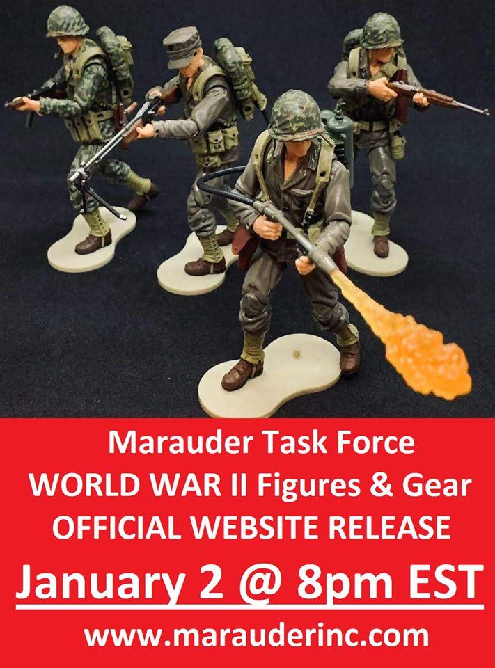Marauder Task Force WWII Website Release Banner - Surveillance Port