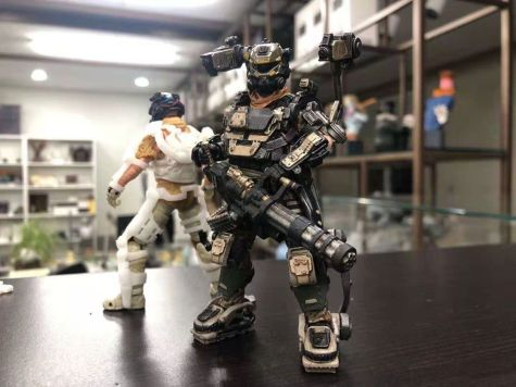 Joy Toy 118 Scale Exoskeleton - Surveillance Port 01