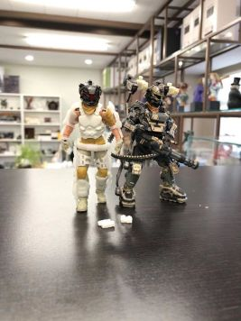 Joy Toy 118 Scale Exoskeleton - Surveillance Port 02