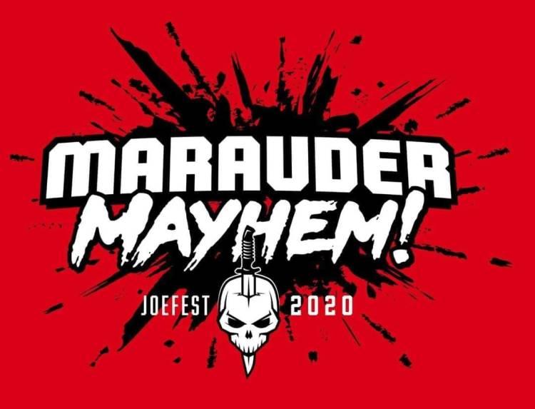 Marauder Mayhem JoeFest 2020 Banner - Surveillance Port