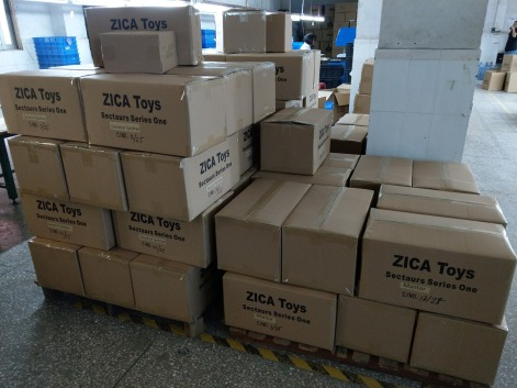 Zica Toys Sectaurs Series One Shipping Boxes - Surveillance Port 01