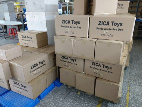 Zica Toys Sectaurs Series One Shipping Boxes - Surveillance Port 02