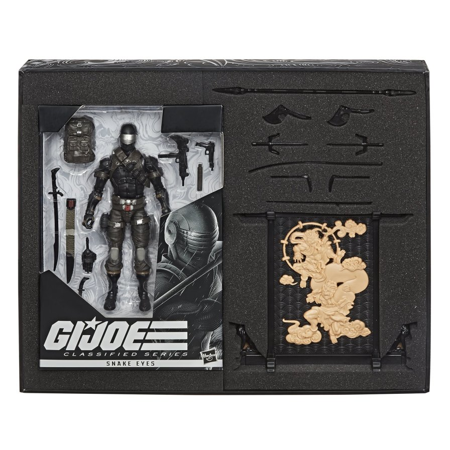 G.I. Joe Classified Series Snake Eyes Deluxe Figure Hasbro Pulse Exclusive - Surveillance Port 07