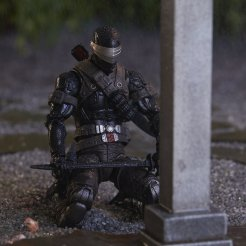 G.I. Joe Classified Series Snake Eyes Deluxe Figure Hasbro Pulse Exclusive - Surveillance Port 12