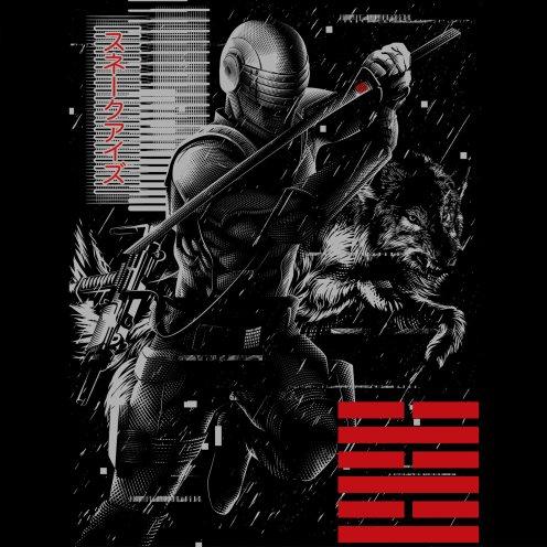 GI Joe Snake Eyes Tee Shirt - Surveillance Port 03