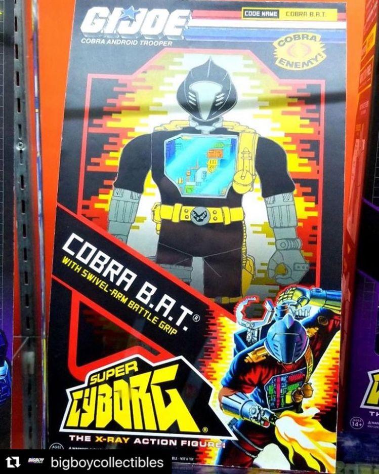 Super7 Super Cyborg G.I.Joe Cobra B.A.T. - Sureillance Port