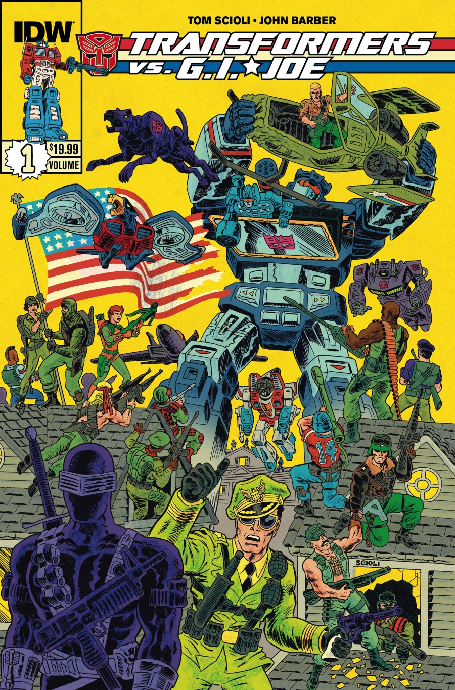TRANSFORMERS VS GI JOE TP VOL 01 (OCT140502) - Surveillance Port
