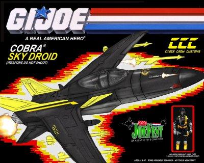 Cyber Crow Customs JoeFest Exclusive Cobra Sky Droid - Surveillance Port 01