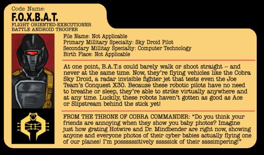 Cyber Crow Customs JoeFest Exclusive Cobra Sky Droid - Surveillance Port 02