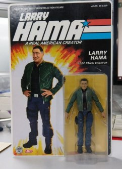 Fresh Monkey Fiction Larry Hama Action Figure Packaging Mock Ups - Surveillance Port 01