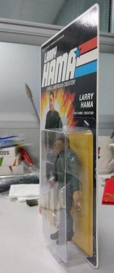 Fresh Monkey Fiction Larry Hama Action Figure Packaging Mock Ups - Surveillance Port 02